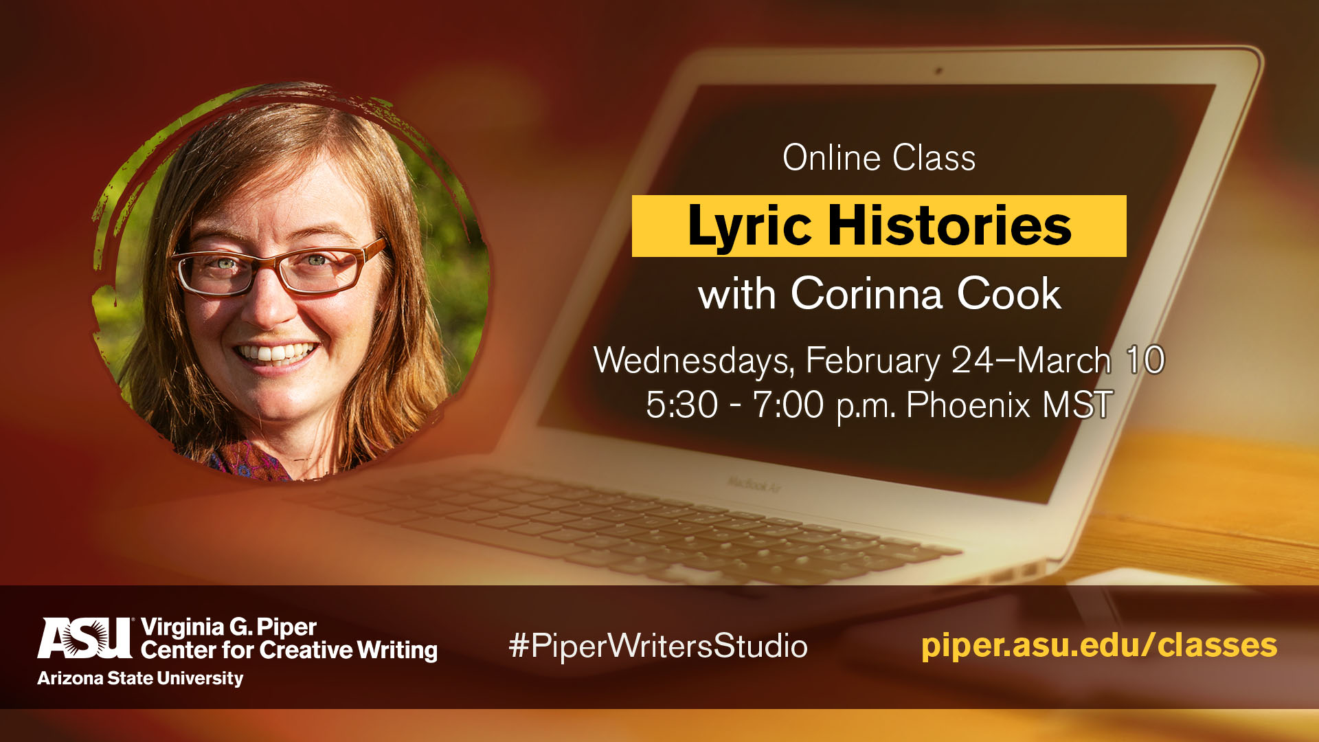 Lyric Histories – Piper Center for Creative Writing as ASU